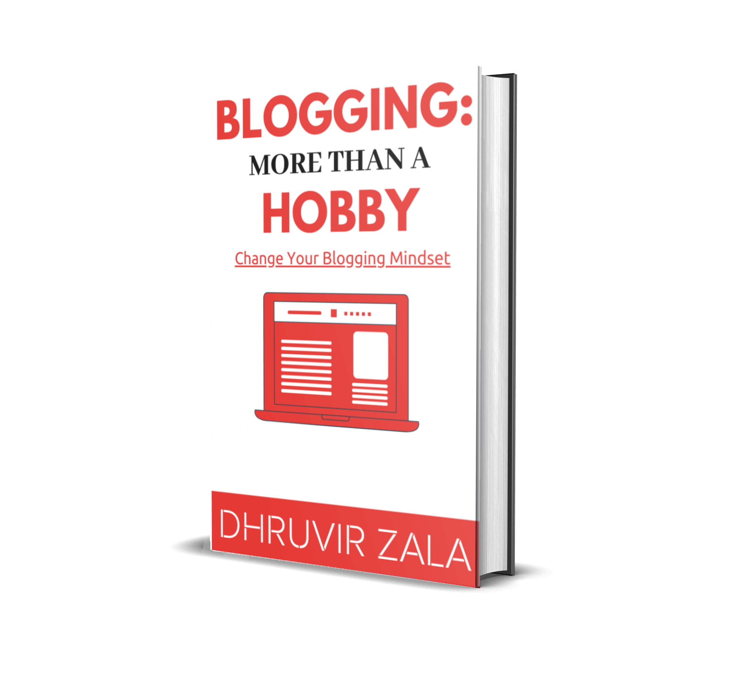"eBook on ""Blogging - More Than A Hobby"""