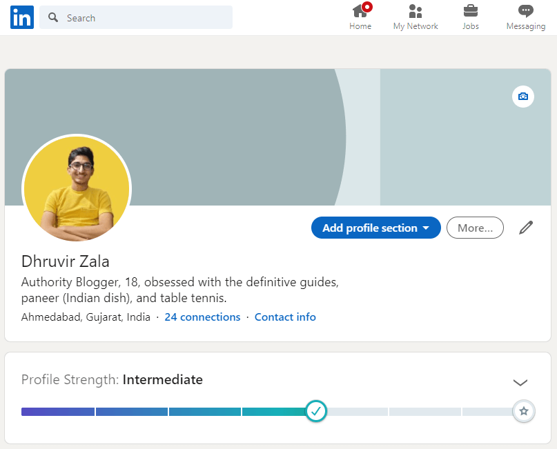 How to connect with other bloggers through Linkedin