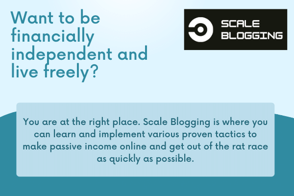 Scale blogging branding