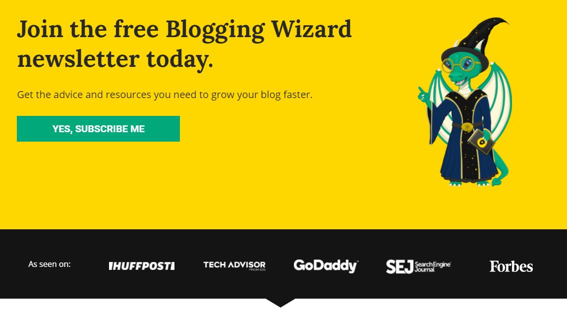 Blogging Wizard Social Proof