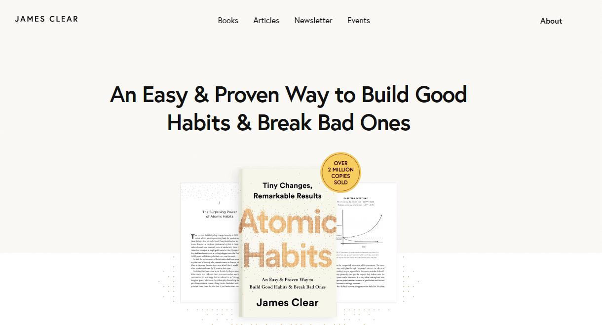 James Clear Blog