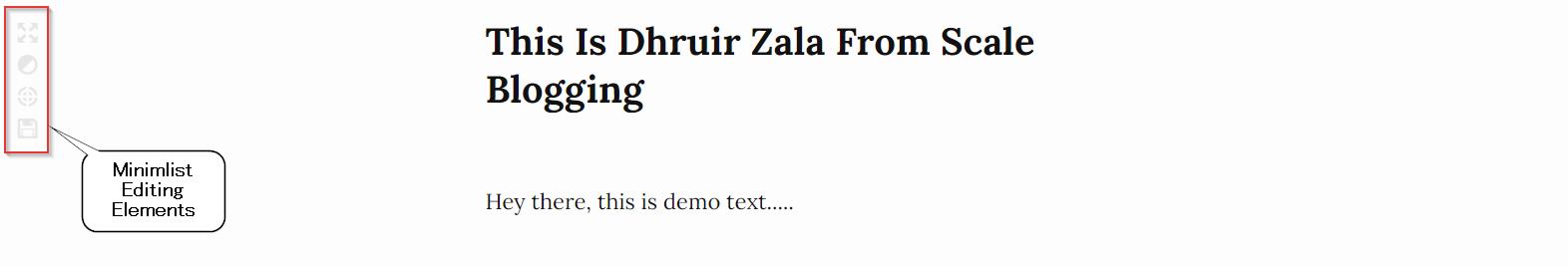 ZenPen distraction-free writing tool