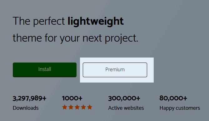 GeneratePress premium plan
