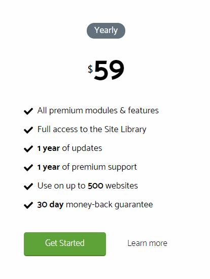 GeneratePress premium pricing plan