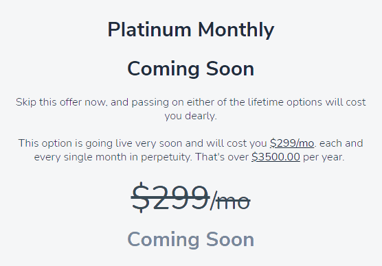 GrooveFunnels monthly premium