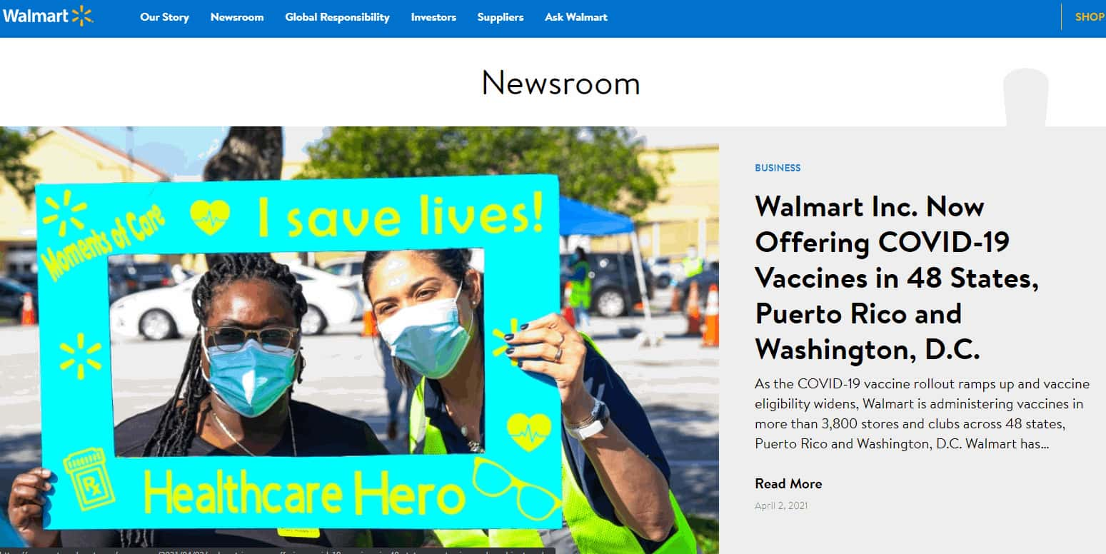Walmart Blog