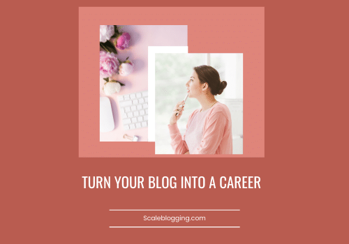 turn your blog into a career
