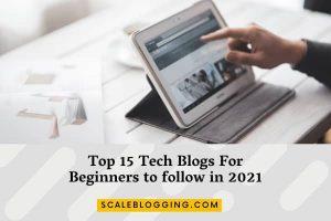 top tech Blogs for Beginners